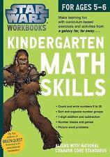 Star Wars Workbook, Kindergarten Math Skills by Workman Publishing Company...