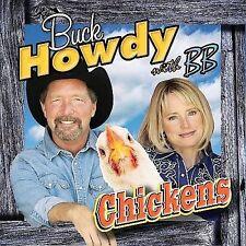 HOWDY,BUCK / BB-CHICKENS  CD NEW