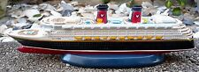"NEW!!! Disney WONDER Cruise Lines Ship Replica 10"" Long Resin Desk Model RARE!"