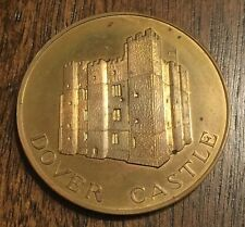 DOVER CASTLE TOWER MEDAL - KENT UNITED KINGDOM - GREAT BRITAIN