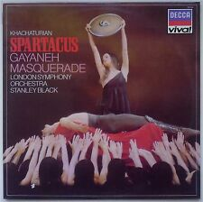 STANLEY BLACK KHACHATURIAN/GAYANEY Spartacus/Masquerade Decca VIva EX/EX