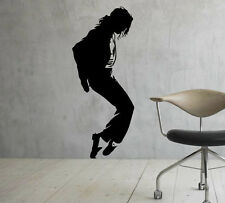 Michael Jackson Wall Decal King of Pop Vinyl Sticker Home Decor Ideas 32(nse)