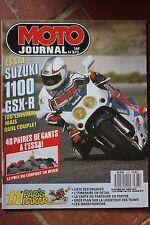 MOTO JOURNAL 873 SUZUKI GSX-R 1100 Montesa 309 Husqvarna 125 PARIS DAKAR 1988