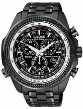 CITIZEN Eco-Drive BL5405-59E Black Chronograph Perpetual Calendar Men's Watch