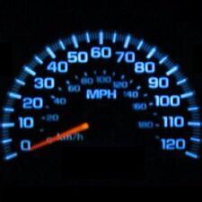 Dash Instrument Cluster Gauges AQUA BLUE LEDS LIGHTS KIT Fits 98-02 Honda Accord