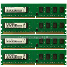 16GB 4x4GB PC2-6400 DDR2-800Mhz 240PIN DIMM Memory Module For AMD CPU Chipset MB