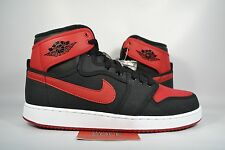 NEW Nike Air Jordan I 1 KO AJKO HIGH OG BRED BLACK VARSITY RED 638471-001 sz 9.5