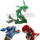 3 Pokemon Center Rayquaza & Groudon & Kyogre Plush Pokedoll Toy Christmas Gift