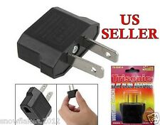 220V  to 110V Travel Flat Plug Charger Adapter Convert