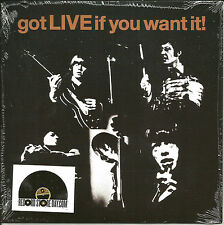 ROLLING STONES Got Live if you want MONO 4500 Made 7 INCH Vinyl Black Friday RSD