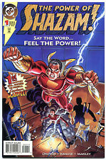 SHAZAM #1 2 3 4, NM+, Captain Marvel,  Lightning bolt, 1995, more in store