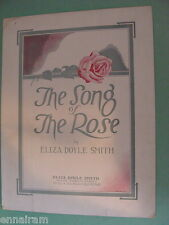 The Song of the Rose 1923 by Eliza Doyle Smith cover by Wilson art