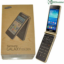 BNIB SAMSUNG GALAXY GOLDEN GT-I9235 GOLD 16GB FLIP FACTORY UNLOCKED 4G SIMFREE