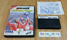 SEGA Master System Champions Of Europe PAL