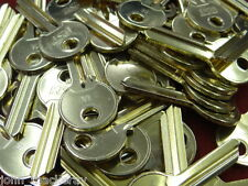 50 OFF UL1   NEW  SHINY  BLANK  BRASS CYLINDER  KEYS