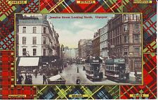 UK Glasgow - Jamaica Street pre WWI unused postcard