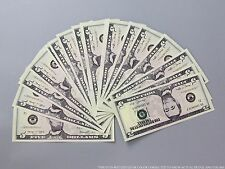 THE BEST PROP MONEY $500 NEW STYLE $5 Full Print Stack for Movie & TV