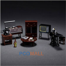 Miniature DollHouse Furniture Sewing Machine Telephone for Sylvanian Families
