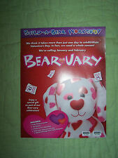 24 Build a Bear Valentines*35 Stickers*Cody Simpson Poster