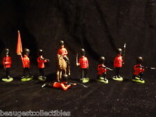 BRITAINS HERALD GUARDS QUEEN ELIZABETH GRENADIER SCOTS ORIGINAL Very RARE 1960's