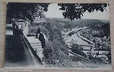 Carte postale CPA 22 Dinan - vue sur la rance et la tour Ste-catherine non écrit