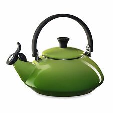 Palm 1.6 Quart Zen Cool Touch Phenolic Knob Locking Handle Whistling Tea Kettle