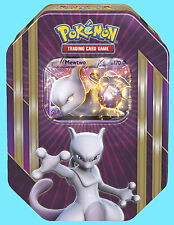POKEMON MEWTWO EX TIN SEALED BOOSTER BOX TCG Trading Card Pack Triple Power 2016