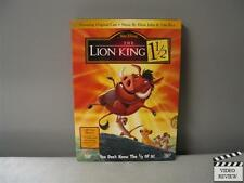 The Lion King 1 1/2 (DVD, 2004, 2-Disc Set, Limited Edition Collectible Packa...