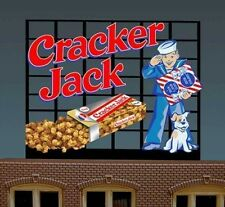 Cracker Jack Animated Billboard Sign for N HO Scale Miller 440102