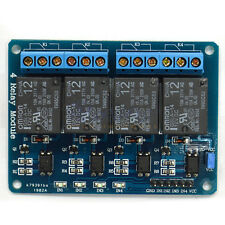 4-Channel 12V Omron G5LA-14 Relay Module With Optocoupler Low Trigger For MCU