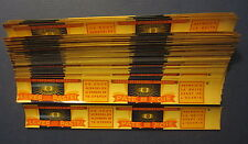 "Wholesale Lot of 100 Old Vintage 1930's - LIVER PATE - CAN LABELS - 1"" x 7 1/2"""