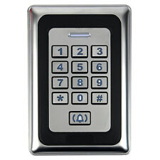Sale Home Door Access Control Entry System Luminous keyboard LED Backlight Metal