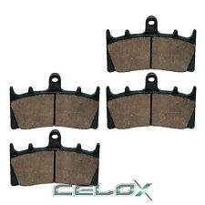 Front Brake Pads For Suzuki GSX-R750 GSXR750 1996 1997 1998 1999