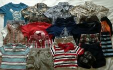 Boys 18/24 months spring summer clothes outfits shirts shorts clothing lot!
