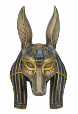 "11.25"" Anubis Mask Wall Plaque Egyptian Egypt Home Decor"
