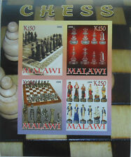 ** Chess - s/s Malawi 2008 mint MNH IMPERF   #F396