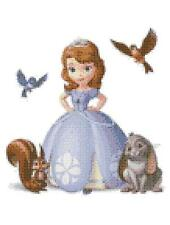 Sofia the first 14 count cross stitch kit