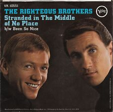 """Righteous Brothers """"Stranded in Middle Of Noplace"""" Record (NM) & Pic Slv (VG++)"""