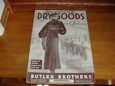 Old FASHIONS BUTLER BROTHERS MINNEAPOLIS CATALOG FURS DRESS HAT BRASSIER VINTAGE