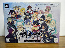 Senran Kagura Shinovi Versus Nyu Nyuu Deluxe Pack PS Vita EMPTY BOX ONLY Japan