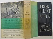 ERNEST HEMINGWAY The Green Hills of Africa FIRST EDITION