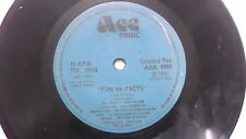 ENGLISH & TAMIL COMIC SONGS  FUN IN FACTS rare SINGLE INDIA 134 VG+