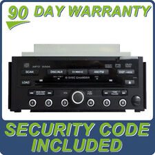 08 2008 09 2009 OEM ACURA RDX XM Radio DVD MP3 WMA 6 CD Disc Changer AUX 3PR0
