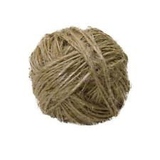 30M Twisted Burlap Jute Twine Rope Natural Hemp Linen Cord String 1mm