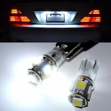 LX7 2PC White T10 194 168 175 2825 Dome License Plate LED Lights Bulb for Buick
