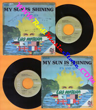LP 45 7'' LOU MATERA My sun is shining P's and q's 1976 italy RCA no cd mc dvd