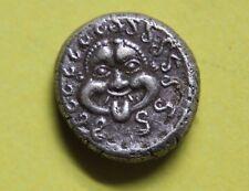 Monedas de Tracia griego Apollonia Pontica, 450-400 BC Plata dracma Moneda