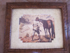 Gregory Perillo The Sentinel framed matted print poem  Carol Wood Heartbeat ....