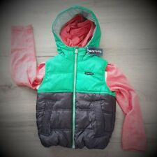 SOURIS MINI boy's Winter sleeveless Wind breaker Vert size 3-4 RRP$55