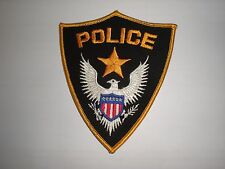 GENERIC POLICE DEPARTMENT PATCH